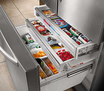 26 Cu Ft 36 Quot Stainless Steel Freestanding Refrigerator