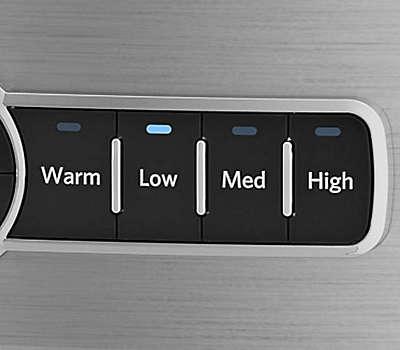4 Temperature Settings (Low, Medium, High, Keep Warm)