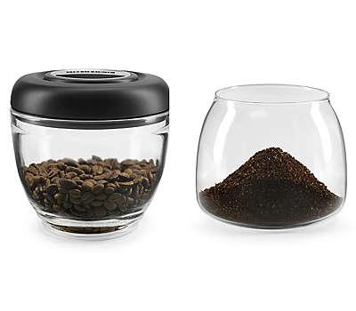 7 Oz. Glass Bean Hopper and Grind Jar