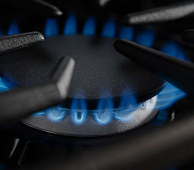 Kitchenaid 6 Burner Gas Cooktop 36-inch 6 burner gas rangetop, commercial-style (kgcu467vss