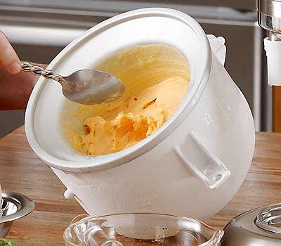 Ice Cream Maker White Offer5e051 Kica0wh Kitchenaid
