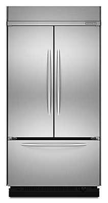 "Kitchenaid Kbfc42fts 25 cu. ft. 41"" built-in refrigerator kbfc42fts kitchenaid"