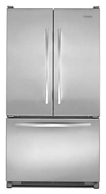 Kitchenaid 20 0 Cu Ft French Door Counter Depth Refrigerator