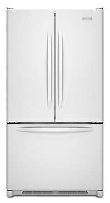 "Kitchenaid Refrigerator White 36"" freestanding refrigerator kbfs20evwh kitchenaid"