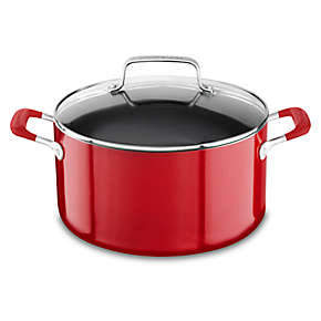 Aluminum Nonstick 6.0-Quart Stockpot with Lid