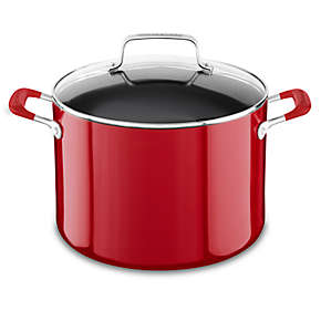 Aluminum Nonstick 8.0-Quart Stockpot with Lid