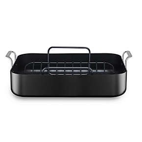 Everyday Easy Hard Anodized Roaster