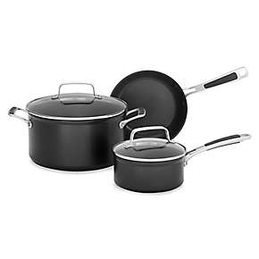 Hard Anodized Nonstick 5-Piece Set A