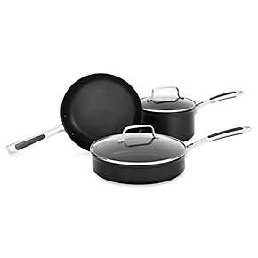 Hard Anodized Nonstick 5-Piece Set B