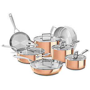 Tri-Ply Copper 12-Piece Set