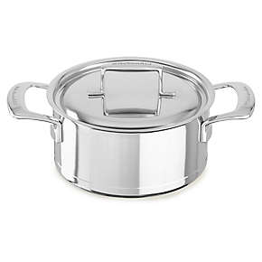 Professional Seven-Ply 3.0-Quart Low Casserole with Lid