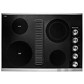 "30"" Electric Downdraft Cooktop with 4 Elements"