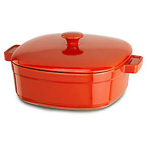 Streamline Cast Iron 6-Quart Casserole