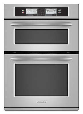 30 Inch Steam Assist Combination Microwave Wall Oven, Architect® Series II