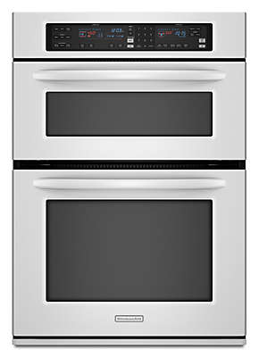 integrated microwave oven brown