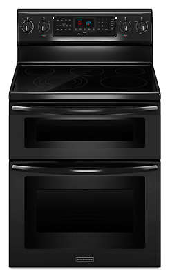 30 Inch 5 Element Electric Freestanding Double Oven Range, Architect®  Series II
