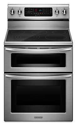 30 Inch 5 Element Electric Freestanding Double Oven Range, Architect®  Series II