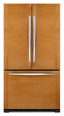 Ft. Counter Depth French Door Refrigerator, Overlay Panel Ready