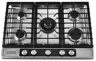 Delightful 30 Inch 5 Burner Gas Cooktop, Architect® Series II