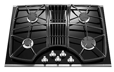 30 Inch 4 Burner Downdraft Gas Cooktop, Architect® Series II