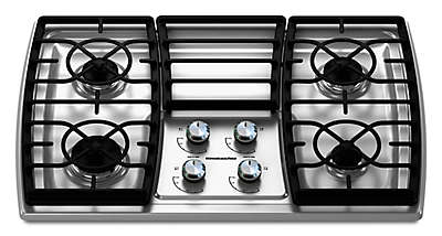 Charming 30 Inch 4 Burner Gas Cooktop, Architect® Series II