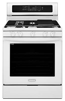 30 Inch 5 Burner Gas With Griddle Freestanding Range, Architect® Series II