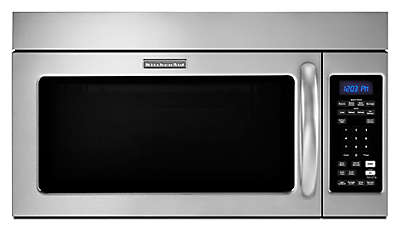 "Kitchenaid Convection Microwave Over The Range 30"" microwave hood combination hoods and vent khmc1857wss kitchenaid"
