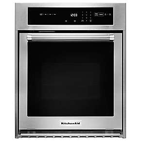 "24"" Single Wall Oven with True Convection"