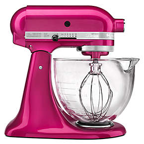 Artisan® Design Series 5-Quart Tilt-Head Stand Mixer with Glass Bowl