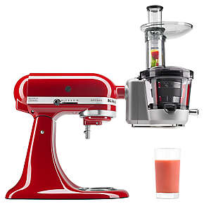 Juicer and Sauce Attachment (slow juicer)