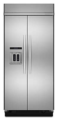 Beautiful Ft. 48 Inch Width Built In Side By Side Refrigerator, Architect® Series II