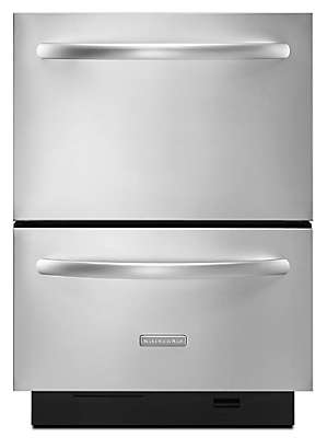 Kitchenaid Dishwasher Model Numbers double drawer 6 cycles / 4 cycle options architect® series ii