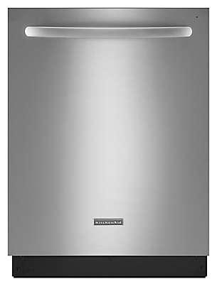 Kitchenaid Dishwasher Kud 24-inch 4-cycle/6-option dishwasher, architect® series ii fully