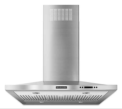 kitchenaid hood. 36\u0027\u0027 island-mount 600 cfm canopy hood, architect® series ii kitchenaid hood h