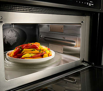Marvelous Microwave Convection Cooking (upper Oven)