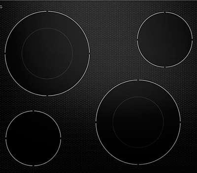Two 10u0027u0027/6u0027u0027 Double Ring Round Elements