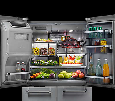 27 Cu Ft 36 Quot Stainless Steel Freestanding Refrigerator