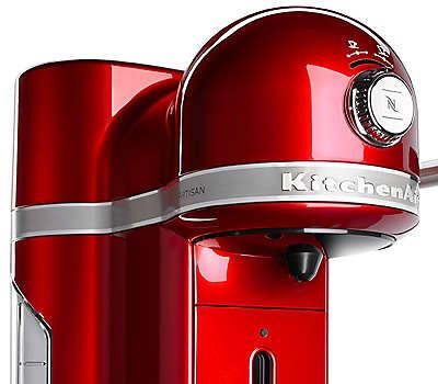 Nespresso 174 Espresso Maker By Kitchenaid 174 Candy Apple Red