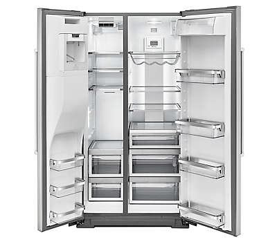 21 Cu Ft 35 Quot Stainless Steel Built In Refrigerator