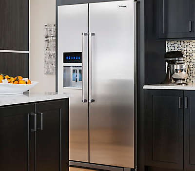 23 Cu Ft 35 Quot Monochromatic Stainless Steel Freestanding