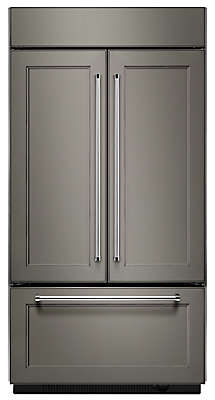 Ft  Width Built In Panel Ready French Door Refrigerator