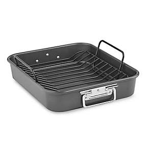 Aluminized Steel Utility Roaster