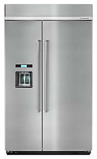 31 Cu Ft 48 Quot Stainless Steel Built In Refrigerator