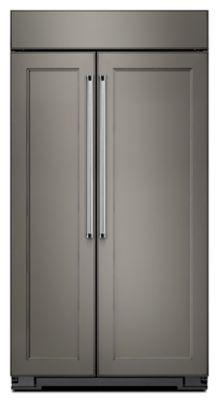 30.0 Cu. Ft 48 Inch Width Built In Side By Side Refrigerator (KBSN608EPA) |  Kitchenaid®
