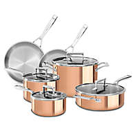 Tri-Ply Copper 10-Piece Set