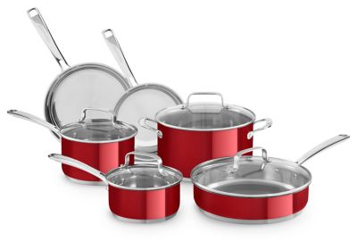 Kitchenaid Pot And Pan Set cookware sets: cooking pots and pans | kitchenaid