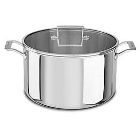 Tri-Ply Stainless Steel 16.0-Quart Stockpot with Lid