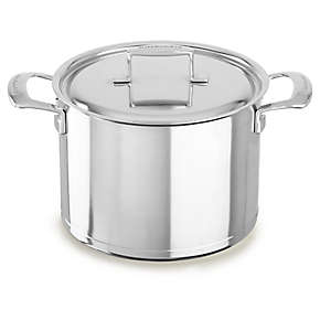Professional Seven-Ply  8.0-Quart Stockpot with Lid