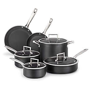 Professional Hard Anodized Nonstick 10-Piece Set