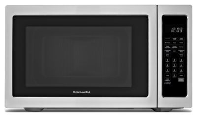 Kitchenaid Conventional Oven 1200-watt countertop convection microwave oven (kcmc1575bss